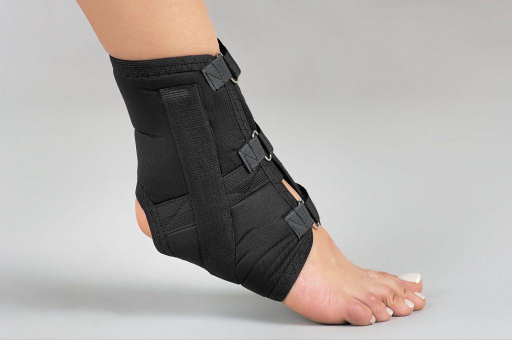 สนับข้อเท้าแบบมีแกนด้านข้าง